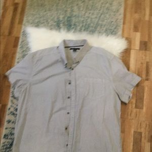 Kenneth Cole short sleeve shirt with one pocket